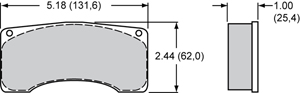 Wilwood Brake Pad Plate #9225