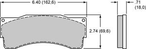 Wilwood Brake Pad Plate #6318