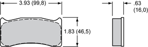 Wilwood Brake Pad Plate #7616