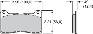 Wilwood Brake Pad Plate #7812