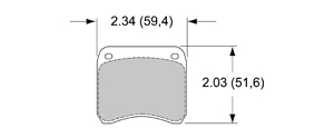 View Brake Pads with Plate #53XX
