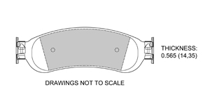 View Brake Pads with Plate #D1067A