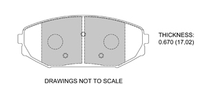 View Brake Pads with Plate #D793