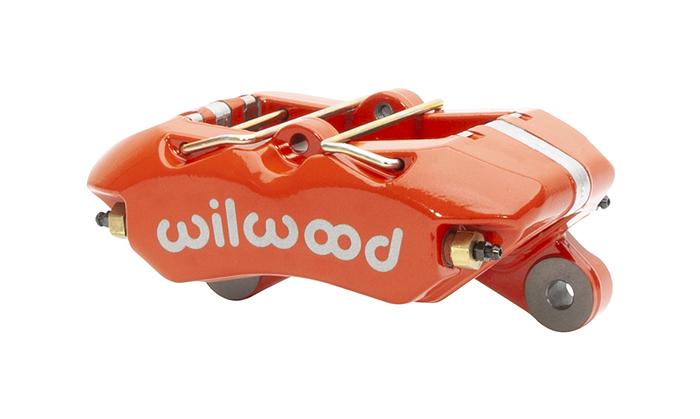 Forged Dynapro Lug Mount Low-Profile-Dust Seal Caliper - Red Powder Coat