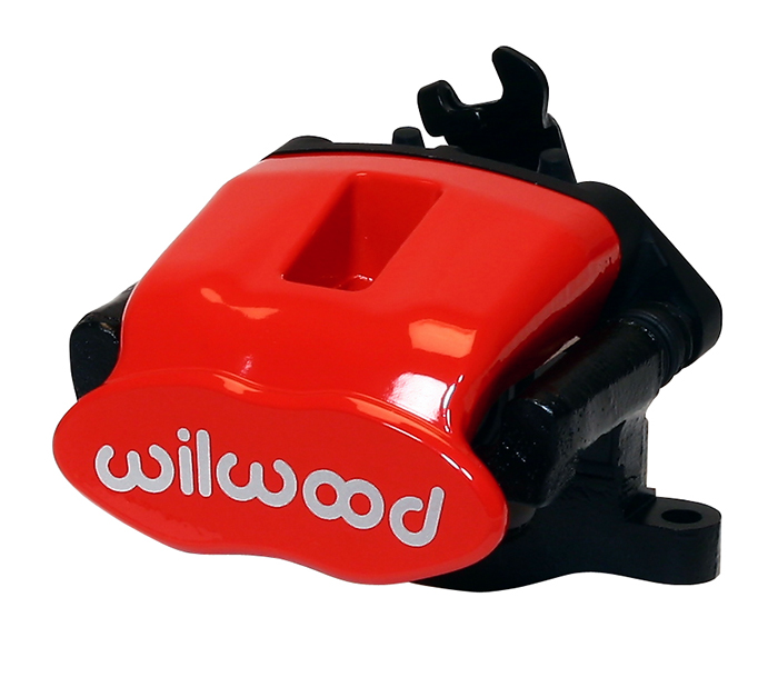 Combination Parking Brake Caliper - Red Powder Coat