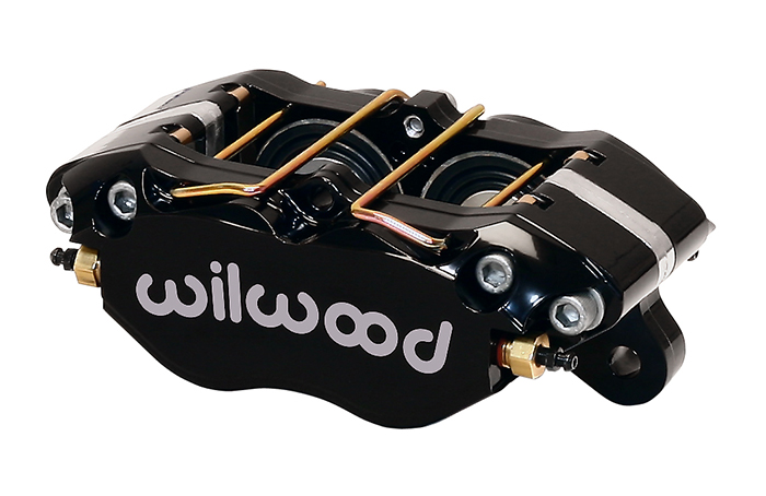 Dynapro Dust-Boot Caliper - Black Powder Coat