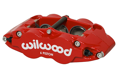 Forged Narrow Superlite 6R Dust Seal Caliper - Red Powder Coat
