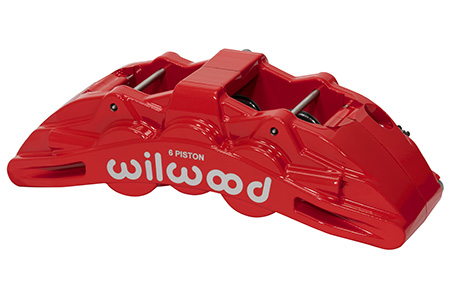 SX6R Caliper - Red Powder Coat
