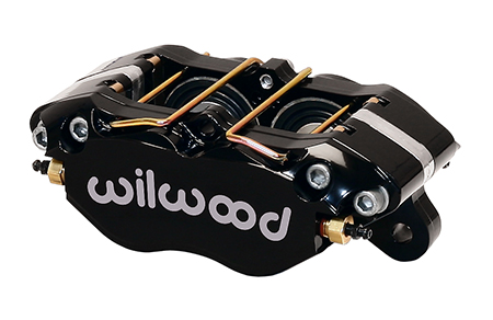 Dynapro Dust Boot Caliper - Black Powder Coat