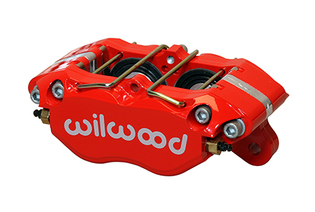 Dynapro Dust Boot Caliper - Red Powder Coat