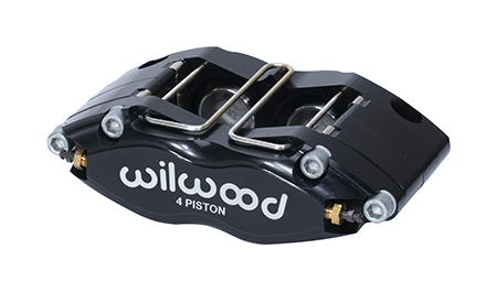 Dynapro Radial Mount Caliper - Black Anodize