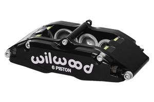 Billet Superlite 6 Caliper - Black Powder Coat
