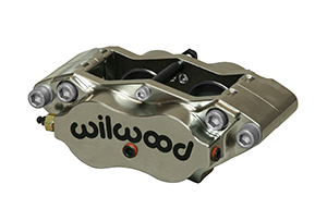 Narrow Dynalite Radial Mount  Caliper - Nickel Plate