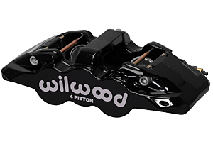 AERO4 Caliper - Black Powder Coat