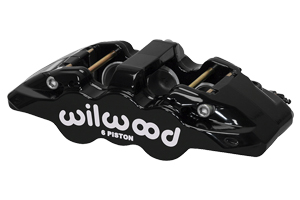 AERO6 Caliper - Black Powder Coat