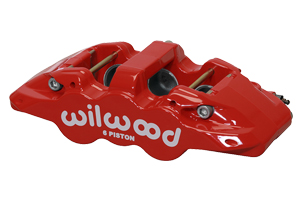 AERO6 Caliper - Red Powder Coat