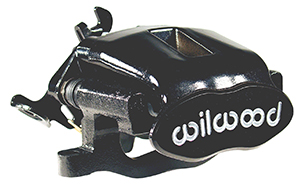 Combination Parking Brake Caliper - Black Powder Coat