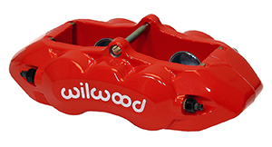 D8-4 Caliper - Red Powder Coat
