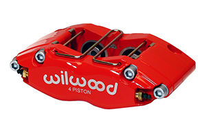 Dynapro Radial Mount Caliper - Red Powder Coat
