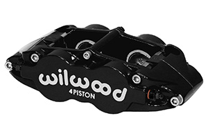 Forged Narrow Superlite 4R Caliper - Black Powder Coat
