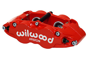 Forged Narrow Superlite 4R Caliper - Red Powder Coat