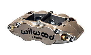 Wilwood Forged Narrow Superlite 6 Radial MT-Quick-Silver Caliper