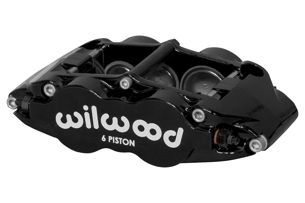 Wilwood Forged Narrow Superlite 6 Dust Seal Radial Mount Caliper