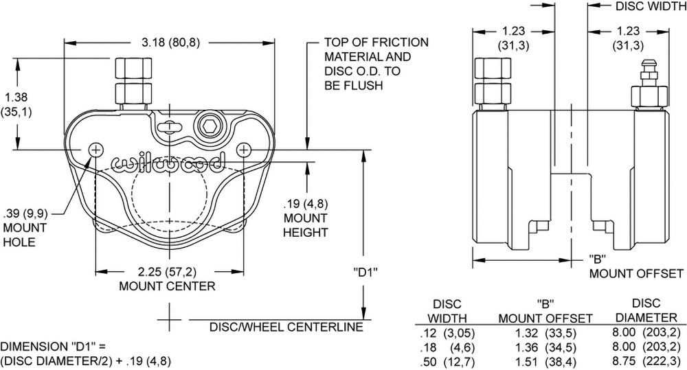 Dimensions for the Billet Go-Kart