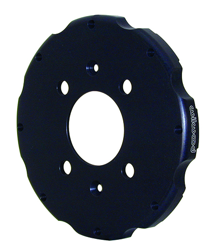 Big Brake Hat - Short Offset - Aluminum - Black E-Coat