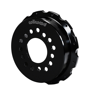 Parking Brake Hat - Standard - Aluminum - Black E-Coat