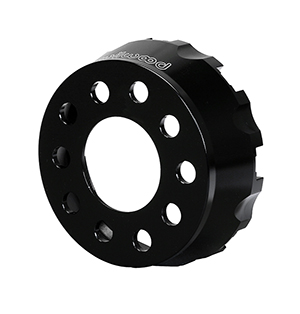 Dynamic Drag Hat - Lug Drive - Aluminum - Black E-Coat