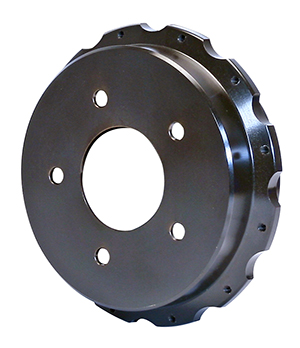 Parking Brake Hat - Standard - Iron - Black E-Coat