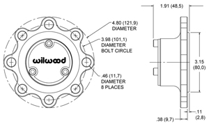 Starlite 5 Drive Flange Drawing