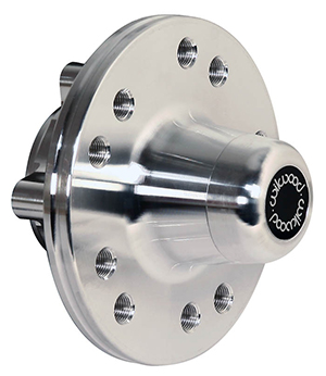 Hub - Solid Rotor Offset - Aluminum - Bare