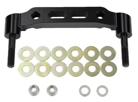 Bracket Kit, Caliper Mounting (Racing) - 250-6309<br />Mount Side L/H or R/H  Mount Cen: 5.98 in  Thread: 3/8-24