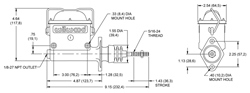 High Volume Master Cylinder Drawing