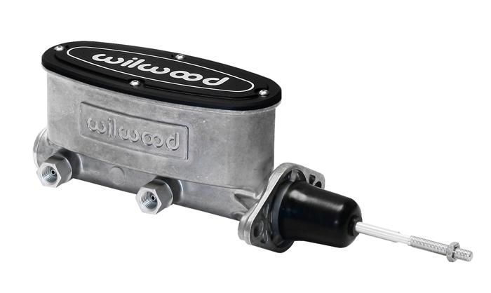 Wilwood 260-13375 Aluminum Tandem Master Cylinder for mid 1960s Domestic Trucks