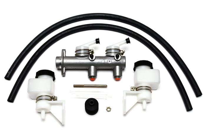 Wilwood 260-7563 Tandem Remote Master Cylinder w/reservoir for Road Racing