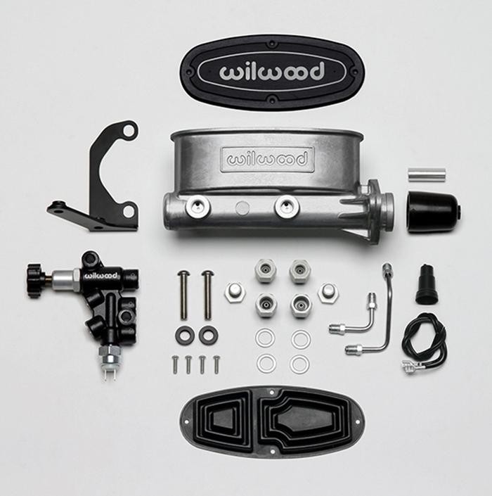 Wilwood 261-13270 Aluminum Tandem master cylinder Kit for Chrysler, Corvette, GM