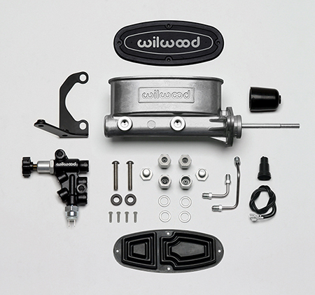 Wilwood Aluminum Tandem M/C Kit with Bracket and Valve