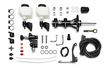 Remote Tandem M/C Kit w/Brkt and Valve (Mustang) Individual Components