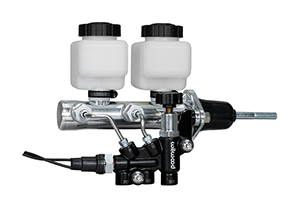 Remote Tandem M/C Kit w/Pushrod, Bracket and Valve