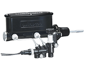 Aluminum Tandem M/C Kit with Bracket and Valve