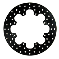 Drilled Steel Rotor