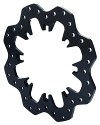 Wilwood Drilled Steel Scalloped Dynamic Mount Rotor