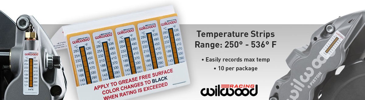 Wilwood Temperature Strips for Calipers