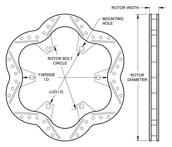 wilwood disc brakes rotor no 160 11217. Black Bedroom Furniture Sets. Home Design Ideas
