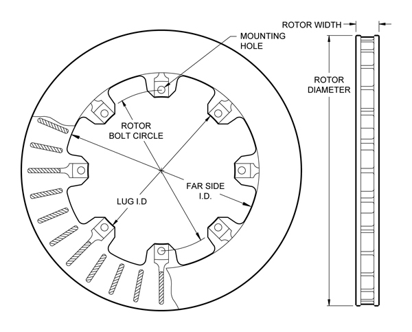 wilwood disc brakes - rotor no: 160-5841 sony car cd wiring diagram cd dimensions diagram