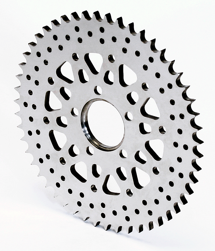 Motorcyle (sprocket)  - Stainless - Micro Polish