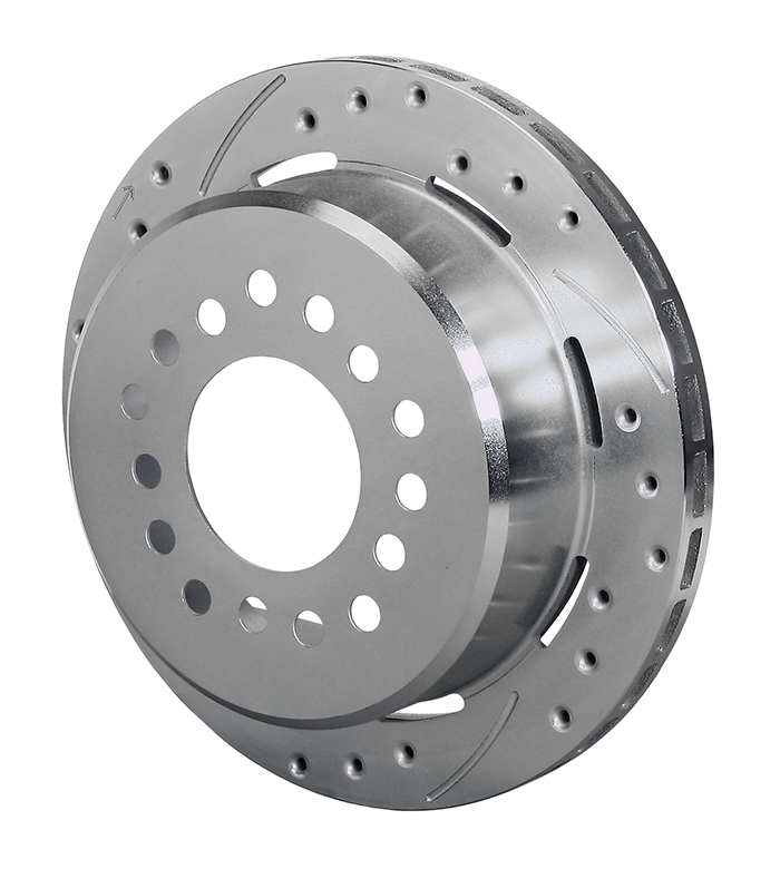 SRP-Z Drilled Rotor & Hat - Iron - Zinc Plate